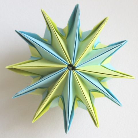 Paper Toys DIY: How to Make an Easy Origami Magic Circle Fireworks ... | 480x480