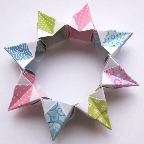 Creative YT - 3D Origami Magic Circle Fireworks Paper... | Facebook | 480x480